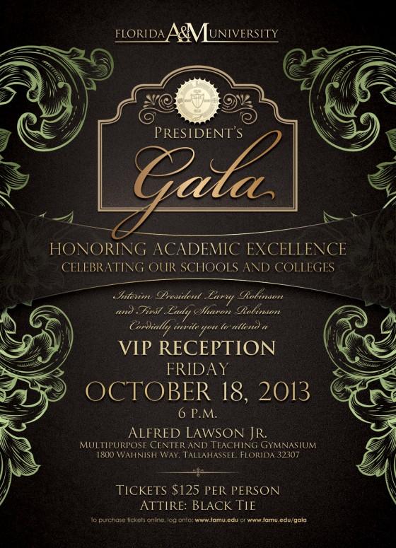 2013 Gala Vip Invite