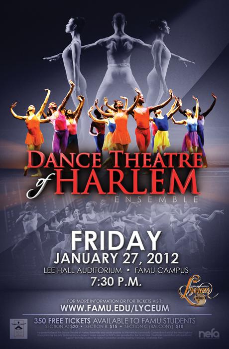 Dance Harlem Poster