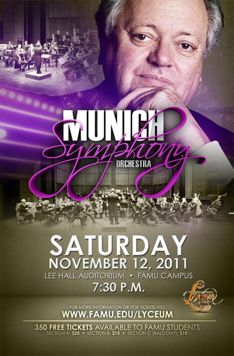 Munich Symphony Poster