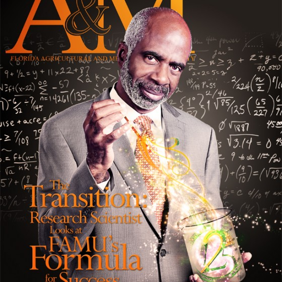 Winter 2013 A&M Magazine cover
